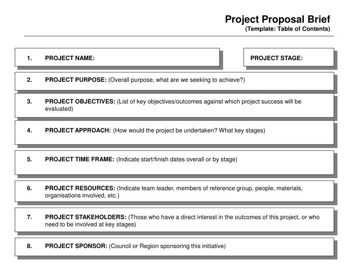 Project Proposal Brief