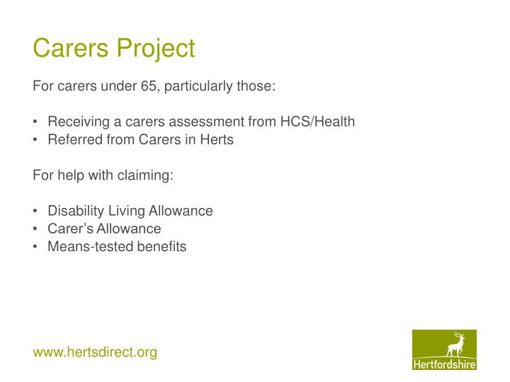 Carers Project