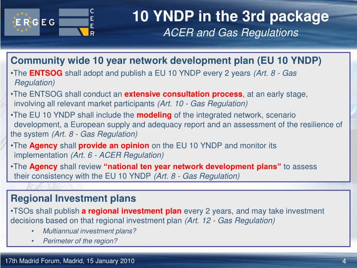 10 YNDP in the 3rd package