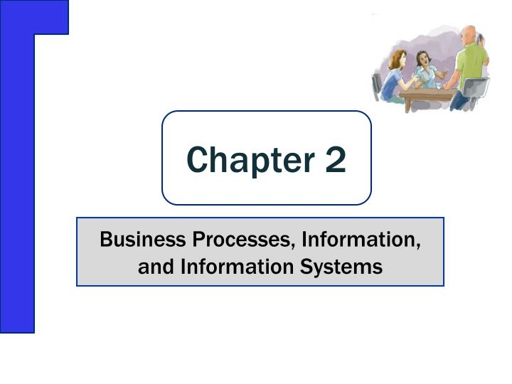 business processes information and information systems n.