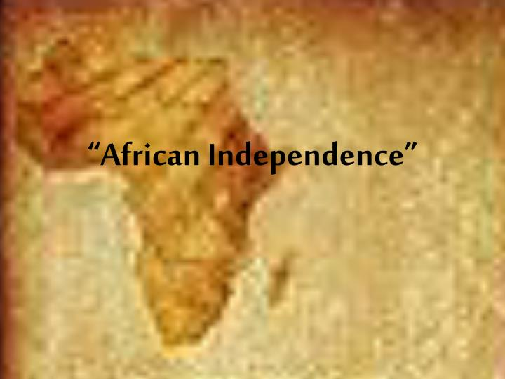 african independence n.