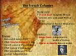 the french colonies