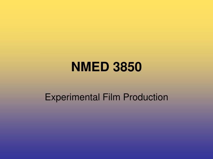 nmed 3850 n.