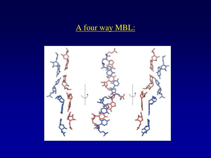 A four way MBL: