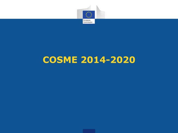 COSME 2014-2020