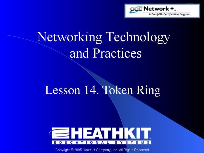 Lesson 14 token ring