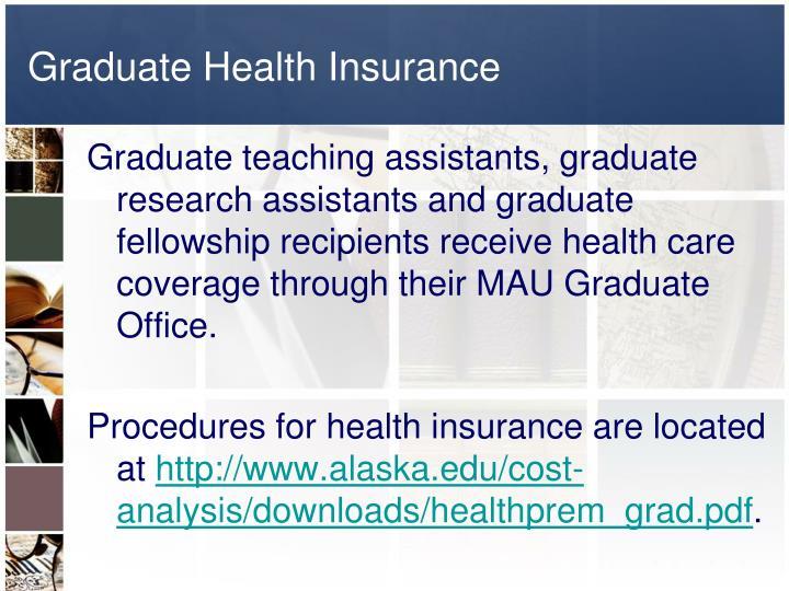Graduate Health Insurance