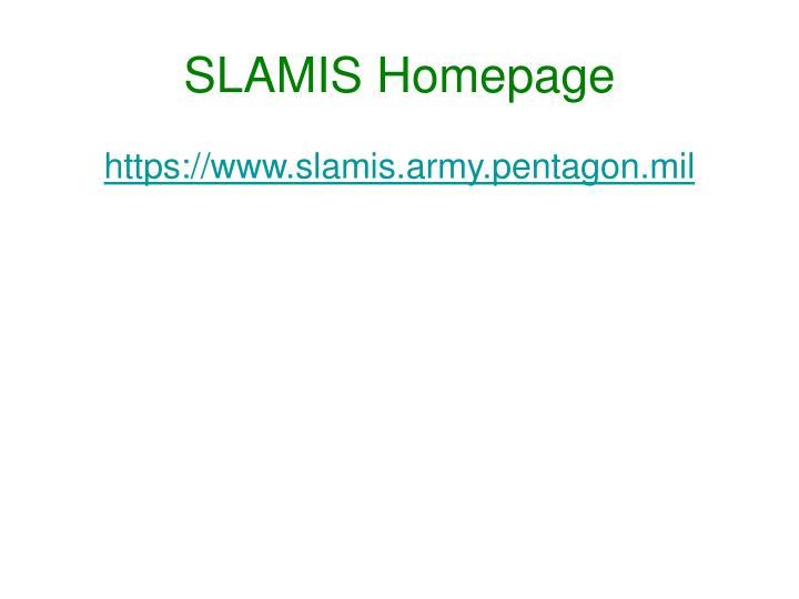 SLAMIS Homepage