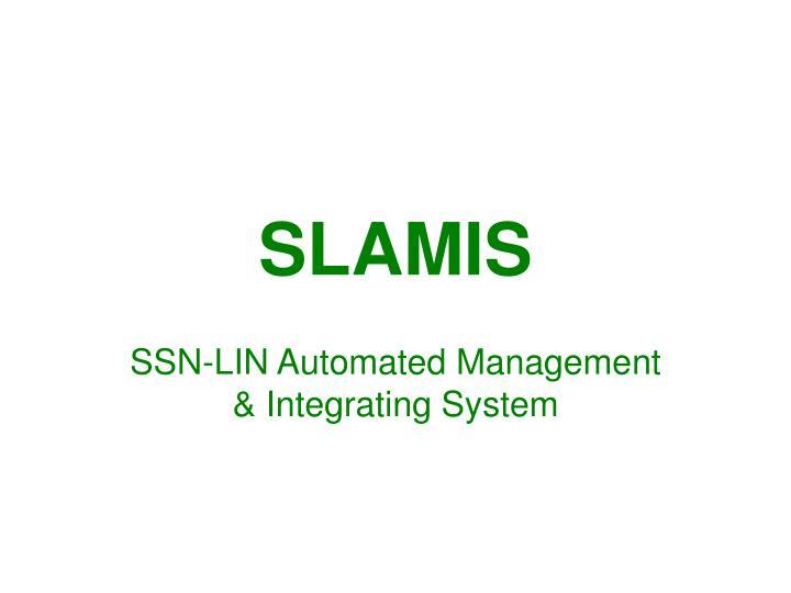 Slamis