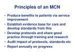 principles of an mcn