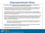 disproportionate share1