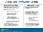 quality data for payment update1