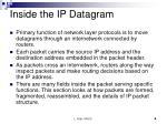 inside the ip datagram1