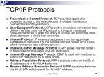 tcp ip protocols
