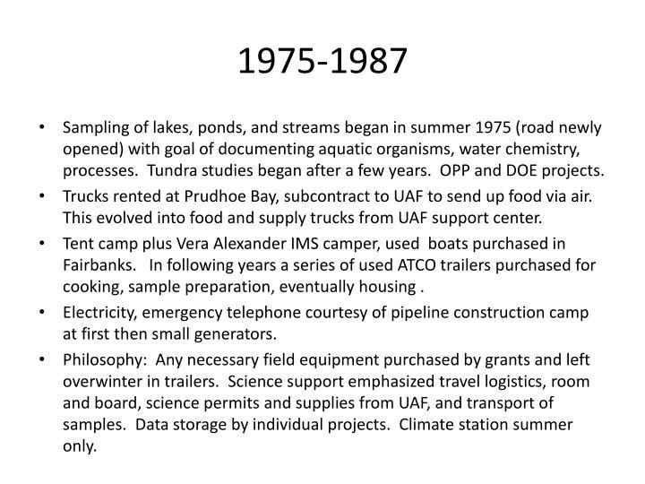1975 1987