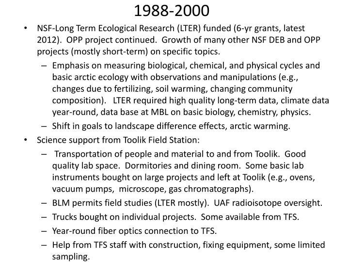 1988-2000