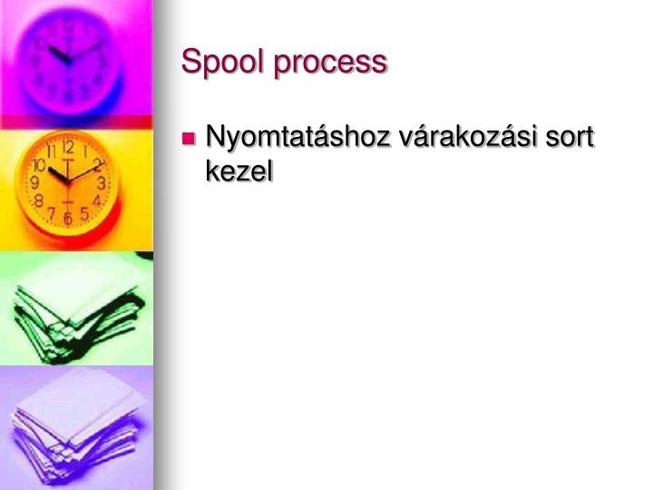 Spool process