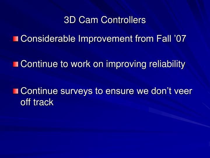 3D Cam Controllers