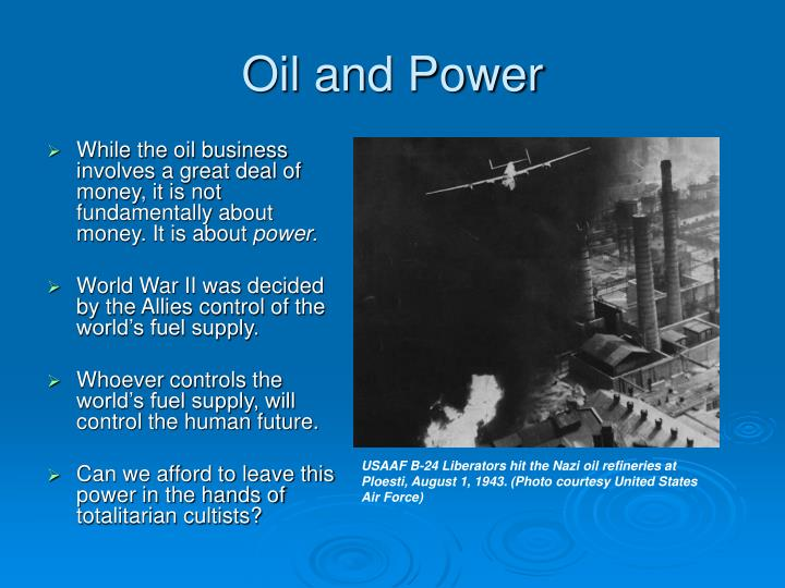 Oil and Power