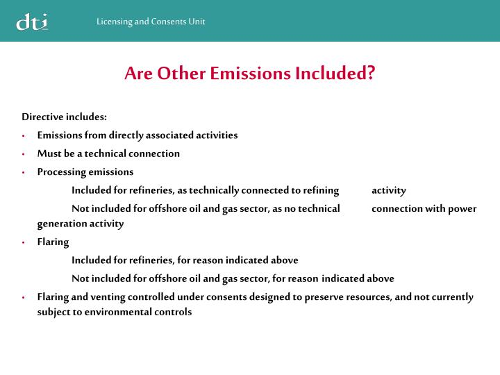 Are Other Emissions Included