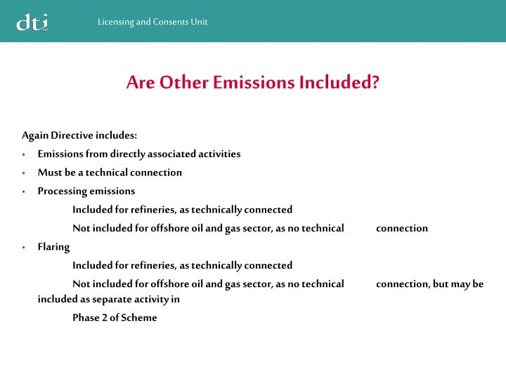 Are Other Emissions Included?