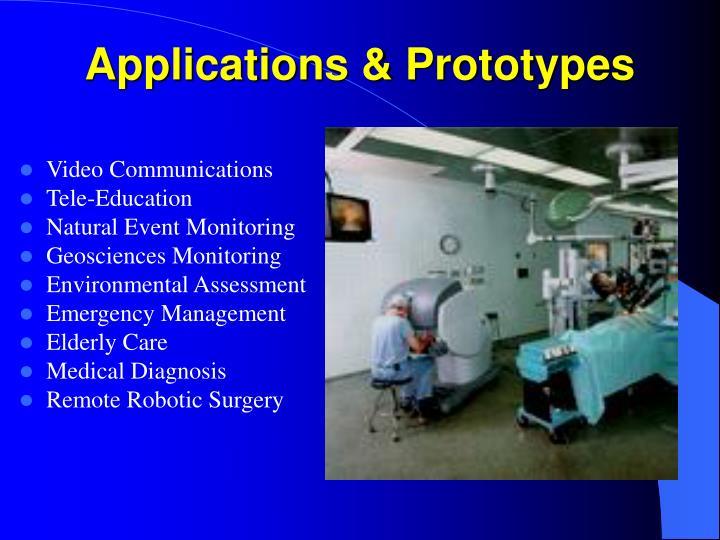 Applications & Prototypes