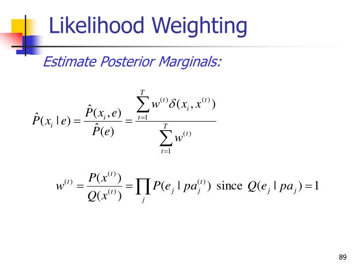 Likelihood Weighting