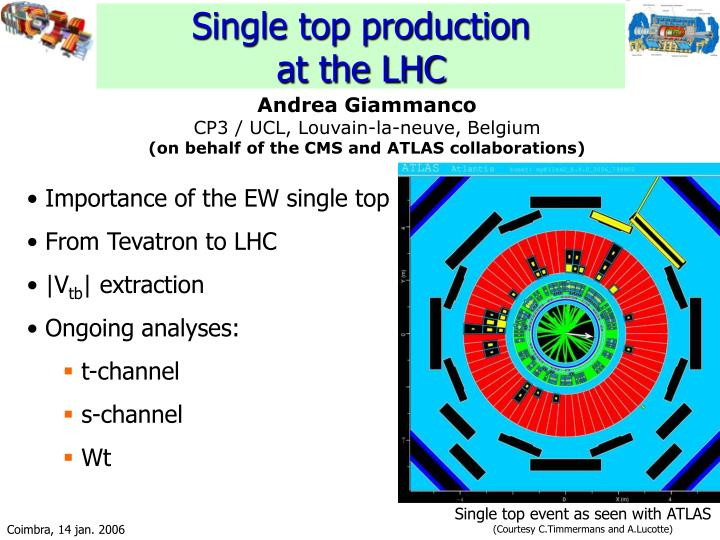 single top production at the lhc n.