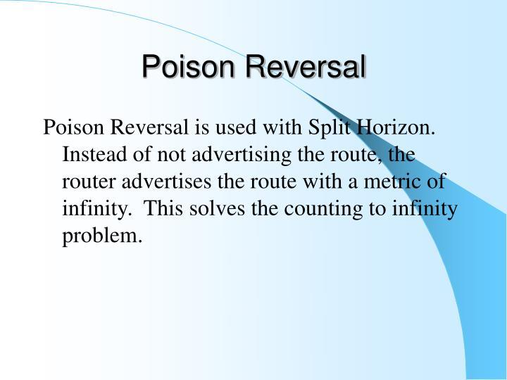 Poison Reversal