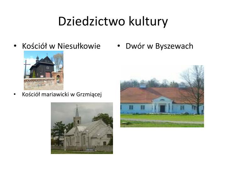 Dziedzictwo kultury