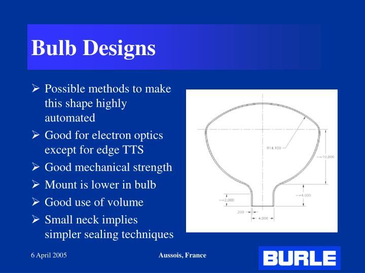 Bulb Designs