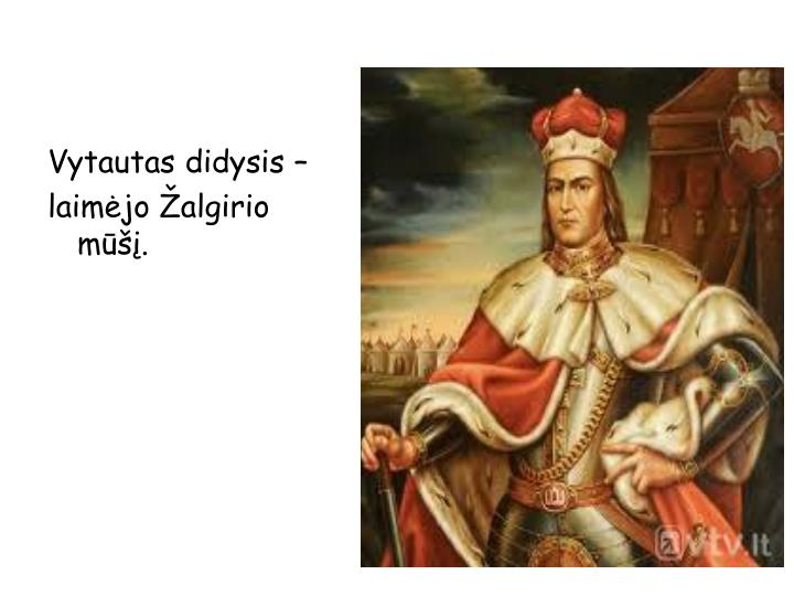 Vytautas didysis –