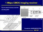 1 mbps cmos imaging receiver