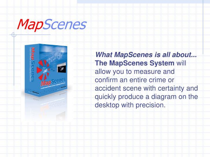 map scenes n.
