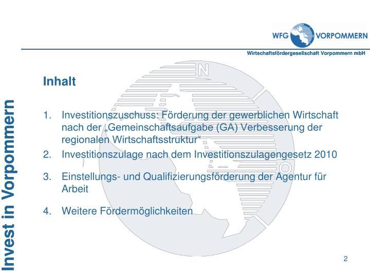 Wirtschaftsfördergesellschaft Vorpommern mbH