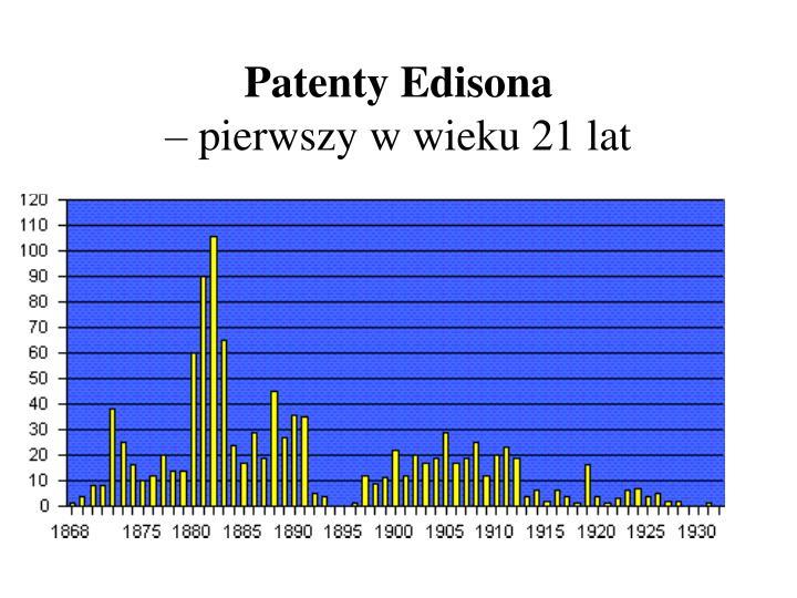 Patenty Edisona