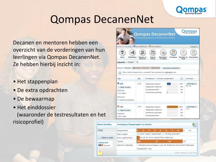 Qompas DecanenNet