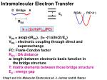 intramolecular electron transfer