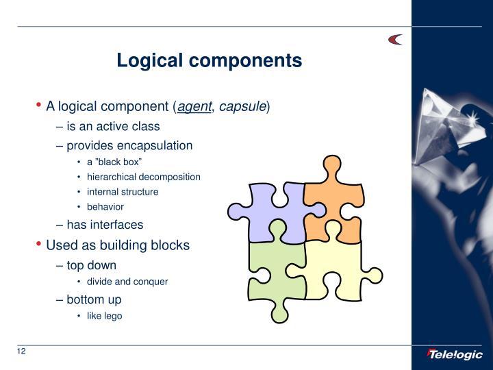 Logical components