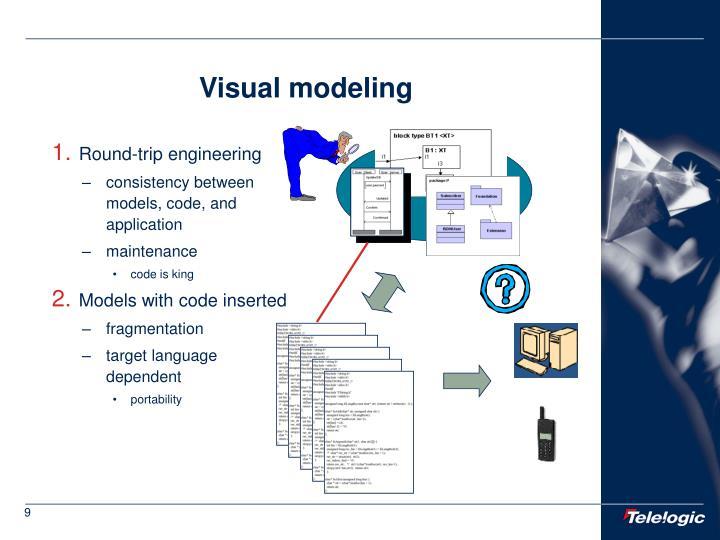 Visual modeling