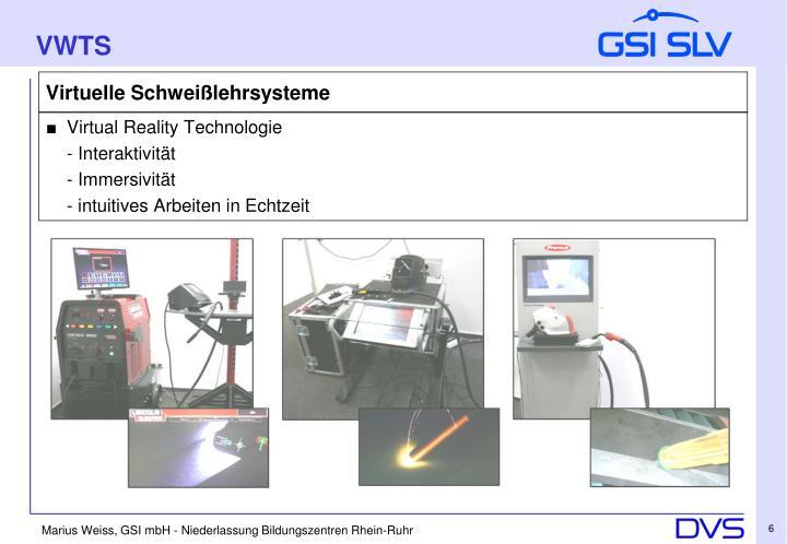 ■ Virtual Reality Technologie