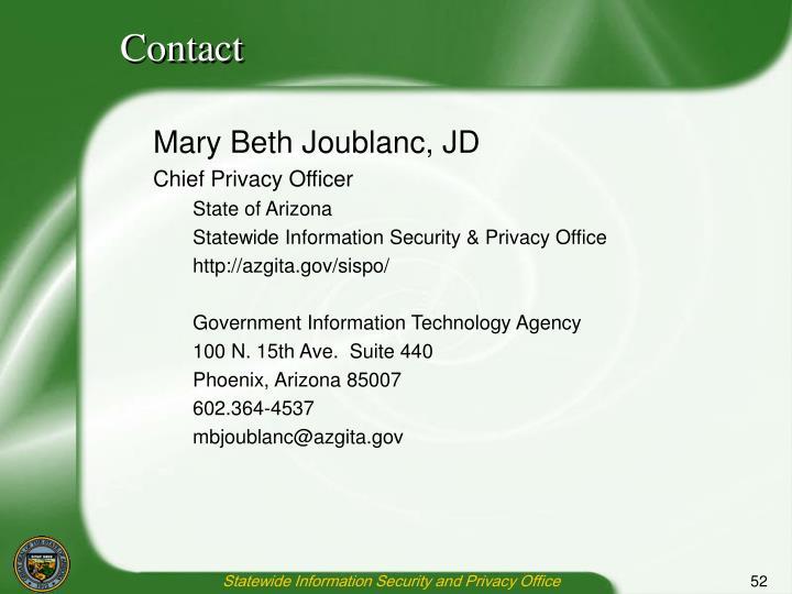 Mary Beth Joublanc, JD