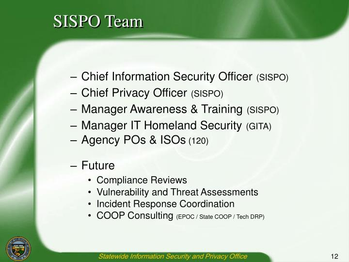 SISPO Team