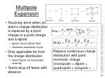 multipole expansion