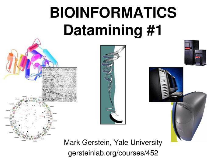 bioinformatics datamining 1 n.