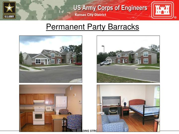 Permanent Party Barracks