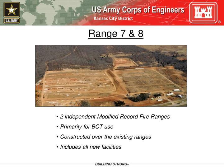 Range 7 & 8