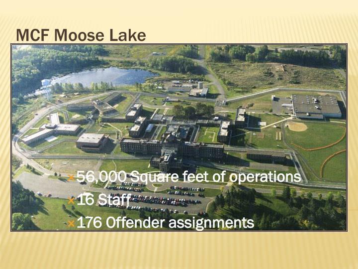 MCF Moose Lake