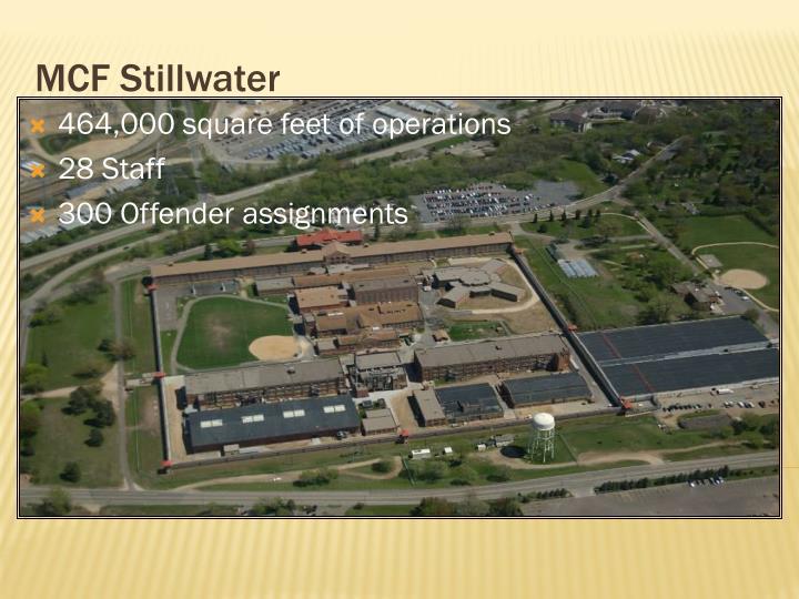 MCF Stillwater