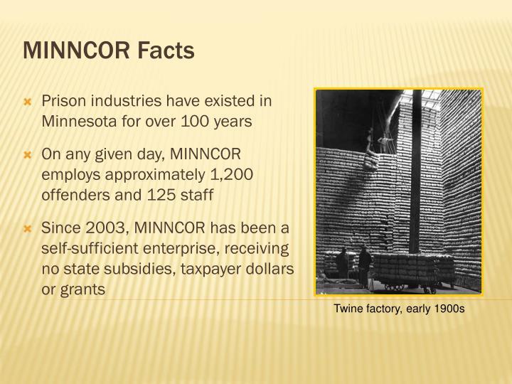 MINNCOR Facts